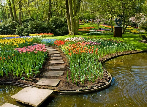 Keukenhof park gardens, Netherlands