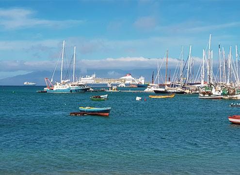 Braemar in Mindelo, Cape Verde